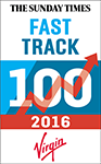Aquinna Homes in the Sunday Times Virgin Fast Track 100 2016